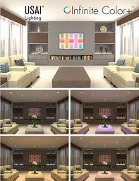color changing led recessed lights for