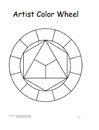 Colour Wheel Chart Colors Color Wheel Chart Free Download Create Edit Fill And