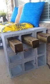 concrete block furniture ideas. Furniture: Cement Backyard Ideas Cinder Block Bench Concrete Furniture K