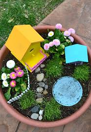 fairy gardens. Contemporary Gardens Inside Fairy Gardens R