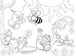 Flower Garden Coloring Pages Starscarletinfo