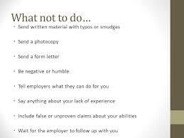 6 what not to do do you need a cover letter