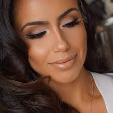 clic bridal look all mac matte shadows on lid anastasiabeverlyhills brow