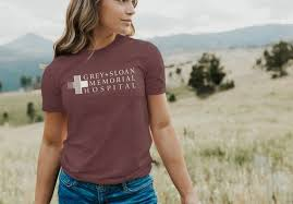 Greys Anatomy T Shirt Grey Sloan Memorial Hospital Tee Greys Anatomy Tee Meredith Grey Derek Shepherd Grey Sloan Memorial Hospital