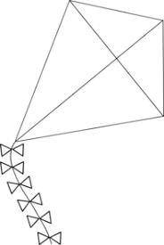 Diamond Kite Clipart #2148313