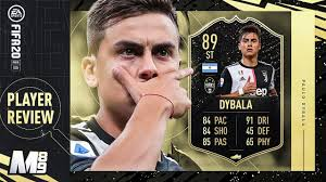 FIFA 20 IF DYBALA REVIEW | 89 IF DYBALA PLAYER REVIEW | FIFA 20 Ultimate  Team - YouTube