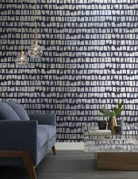 Urban House Design Vinyl Wall Panels Living Room Design In Blue From Phillip Jeffries Vinyl Great