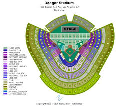 Dodger Stadium Seating Chart Infield Reserve Carraperde Los Angeles Dodgers Stadium Seating Chart