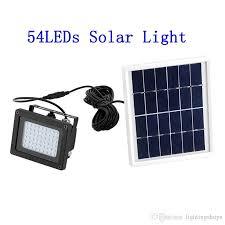 2021 solar light sensor flood spotlight