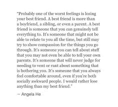 Sad Quotes About Losing A Best Friend