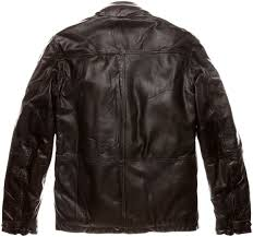 blauer usa dakota leather jacket men jackets fashion brown blauer