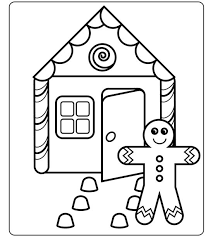 Bhg Coloring Sheets For Adults Bhg Gingerbread Housejpgrendition