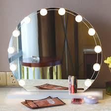 makeup mirror lighting. NEW Hot SALE Hollywood Style Makeup Mirror Lights LED Vanity 10 Bulbs Kit Lighting