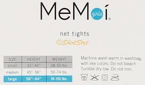 Memoi Girls Deco Net Tights Mkf 9001