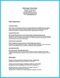 Resume Templates For Bar Manager And Curriculum Vitae Objective