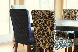 Linen Dining Room Chair Slipcovers Sure Fit Slipcovers Form Fit Stretch Jacquard Damask Short Dining