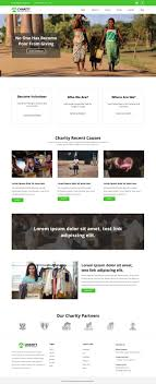 How To Design A Charity Website Charity Fundraising Blogger Template Templatetoaster