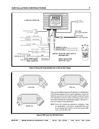 msd distributor wiring diagram solidfonts msd wiring diagram point trigger diagrams