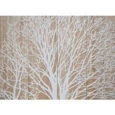 wooden walls large white carved tree artwork on large white wood wall art with driftwood tree frames with shell leaves triptych carved wood