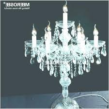 chandeliers table top chandelier crystal centerpieces tabletop al