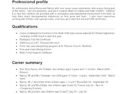 Career Summary Examples Example Of Resume Profile Sample Resume Profiles Cv Resume Profile