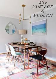 retro dining table and chairs sydney. vintage eclectic dining room chairs how to mix interior designers hills district sydney retro table and