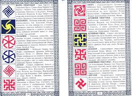 славянские руны татуировки