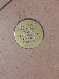 Fichiermédaillon De Citation De Benjamin Métro De Paris Ligne 14