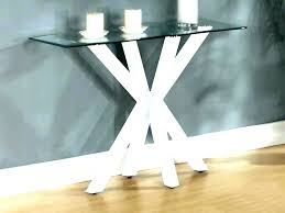 round entry table round entry table modern round entry table glass top console tables furniture small