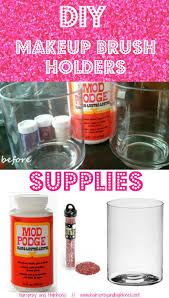 diy makeup storage and organizing diy makeup brush holders awesome ideas and dollar