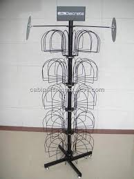 Hat Stands For Display Floor Standing Metal Hat Display Floor Display Retail Hat Cap 61