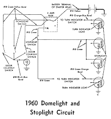 thunderbird ranch diagrams page 1960 dome and stop light wiring diagram