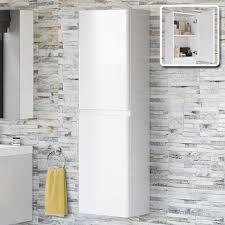 White Bathroom Cupboard Denver Gloss White Bathroom Furniture Denver Gloss White Vanity