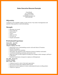 10 Sales Excutive Resume Mla Cover Page