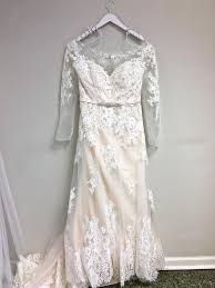 Bonny Bridal Ivory Light Gold Lace 1805 Traditional Wedding Dress Size 18 Xl Plus 0x 53 Off Retail