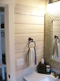 bathroom with shiplap wall anthony thomas builders