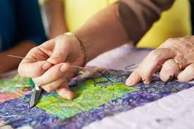 The Basics of Quilt Making – ShopquiltMakers & Close Up Of Woman's Hand Sewing Quilt Adamdwight.com