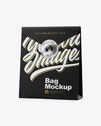 A collection of free iphone mockups for your personal and commercial projects. Paper Bag Mockup Half Side View In Bag Sack Mockups On Yellow Images Object Mockups Bag Mockup Mockup Free Psd Free Psd Mockups Templates