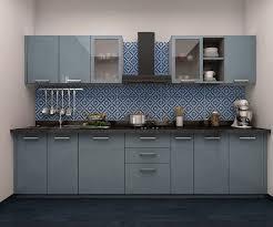 Modular Kitchen Design Indian Kitchens Single Platform Open Kitchen