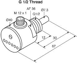 fcs g1 2a4 ap8x h1141 turck 1 → 150 water cm³ s 3 → 300 calorimetric flow sensors and adaptors