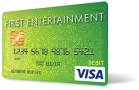 First Entertainment Credit Union Emv Chip Secured Debit Card First Entertainment Credit Union