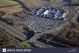 East Midlands Designer Outlet Offers Aerial View Of The East Midlands Designer Outlet Near