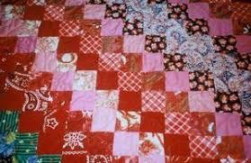 Quilting Links U.S. and Africa :: IRAAA & ... Nine-patch quilt pattern - Georgia Patton, Kansas City, Kansas. Photo: Adamdwight.com