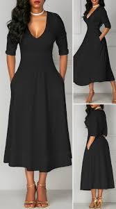 Half Sleeve Pocket Design High Waist Dress Half Sleeve Pocket Design High Waist Dress Hot Sale Cute