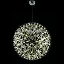 modern stainless steel spherical chandelier living room d45cm d60cm led 42 led 92 home