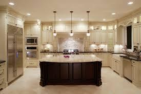 ... Amazing Images Of Kitchen Decoration Design Ideas Using Dark Brown Wood  Kitchen Island : Attractive U ...