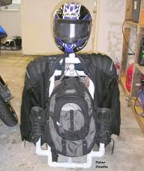 Motorcycle Coat Rack Build a PVC motorcycle gear cady valet 12