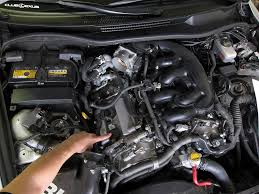 lexus is how to replace ignition coils clublexus engine bay covers removed