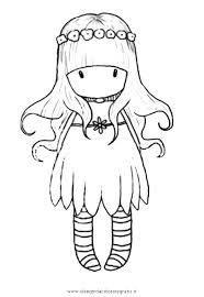 Disegno Gorjuss04 Personaggio Cartone Animato Da Colorare