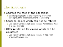 argument essay the art of persuasion arguable or not arguable 7 the antithesis